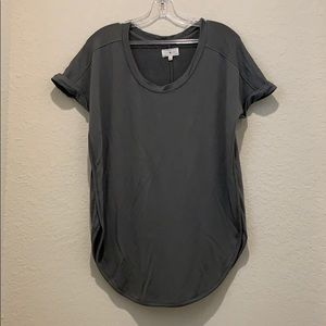 Lou & Gray Olive green top